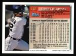 1994 Topps #342  Danny Gladden  Back Thumbnail
