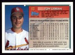 1994 Topps #83  Tom Urbani  Back Thumbnail
