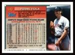 1994 Topps #140  Frank Viola  Back Thumbnail