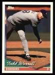 1994 Topps #611  Todd Worrell  Front Thumbnail