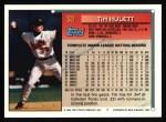 1994 Topps #32  Tim Hulett  Back Thumbnail