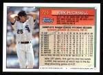 1994 Topps #724  Kirk McCaskill  Back Thumbnail