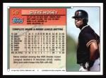 1994 Topps #547  Steve Hosey  Back Thumbnail
