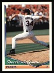 1994 Topps #222  Trevor Hoffman  Front Thumbnail
