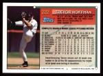 1994 Topps #222  Trevor Hoffman  Back Thumbnail