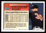 1994 Topps #723  Gregg Olson  Back Thumbnail