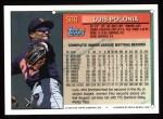 1994 Topps #566  Luis Polonia  Back Thumbnail