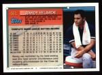1994 Topps #461  Randy Velarde  Back Thumbnail