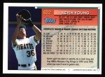 1994 Topps #622  Kevin Young  Back Thumbnail