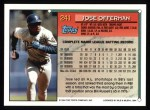 1994 Topps #241  Jose Offerman  Back Thumbnail