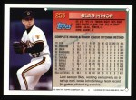 1994 Topps #253  Blas Minor  Back Thumbnail