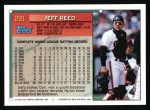 1994 Topps #291  Jeff Reed  Back Thumbnail