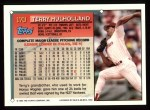 1994 Topps #170  Terry Mulholland  Back Thumbnail