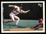1994 Topps #254  Tim Teufel  Front Thumbnail
