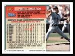 1994 Topps #665  Mark Langston  Back Thumbnail