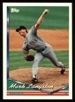 1994 Topps #665  Mark Langston  Front Thumbnail