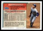 1994 Topps #10  John Olerud  Back Thumbnail