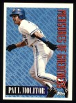 1994 Topps #609   -  Paul Molitor Measures of Greatness Front Thumbnail