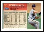 1994 Topps #623  Rafael Novoa  Back Thumbnail