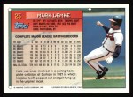 1994 Topps #23  Mark Lemke  Back Thumbnail