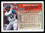 1994 Topps #20  Bryan Harvey  Back Thumbnail