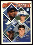 1994 Topps #237  Curtis Pride / Shawn Green / Mark Sweeney  Front Thumbnail