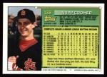 1994 Topps #139  Tripp Cromer  Back Thumbnail