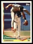 1994 Topps #444  Geronimo Pena  Front Thumbnail