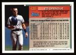 1994 Topps #426  Ed Sprague  Back Thumbnail