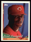 1994 Topps #69  Jacob Brumfield  Front Thumbnail