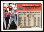 1994 Topps #69  Jacob Brumfield  Back Thumbnail