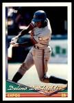 1994 Topps #109  Delino DeShields  Front Thumbnail