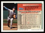 1994 Topps #211  Tom Candiotti  Back Thumbnail