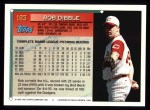 1994 Topps #183  Rob Dibble  Back Thumbnail