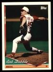 1994 Topps #183  Rob Dibble  Front Thumbnail
