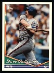 1994 Topps #274  Dave Gallagher  Front Thumbnail