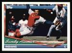 1994 Topps #273  Sandy Alomar Jr.  Front Thumbnail