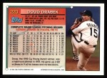 1994 Topps #220  Doug Drabek  Back Thumbnail