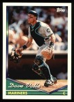 1994 Topps #736  Dave Valle  Front Thumbnail