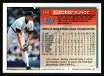 1994 Topps #144  Bobby Munoz  Back Thumbnail