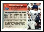 1994 Topps #697  Dave Hansen  Back Thumbnail