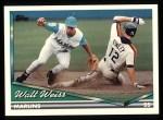 1994 Topps #256  Walt Weiss  Front Thumbnail