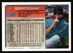 1994 Topps #587  Matt Turner  Back Thumbnail