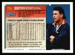 1994 Topps #734  Mark Portugal  Back Thumbnail