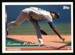 1994 Topps #545  Ramon Martinez  Front Thumbnail