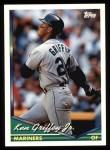 1994 Topps #400  Ken Griffey Jr.  Front Thumbnail