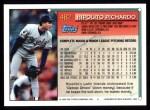 1994 Topps #482  Hipolito Pichardo  Back Thumbnail