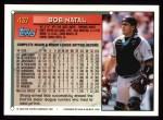 1994 Topps #437  Bob Natal  Back Thumbnail