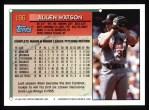 1994 Topps #196  Allen Watson  Back Thumbnail