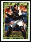 1994 Topps #194  Javier Lopez  Front Thumbnail